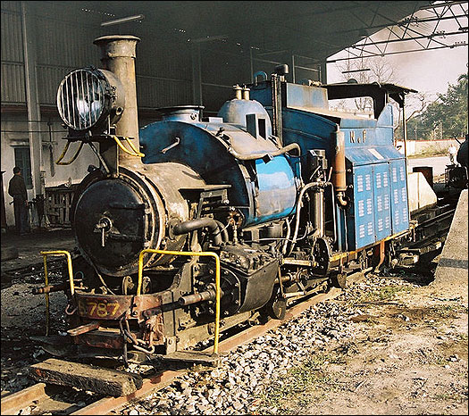 No.787 after conversion to oil firing.